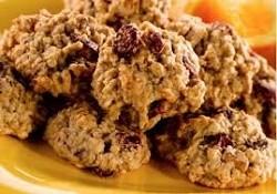 Honey Cranberry Nut Cookies